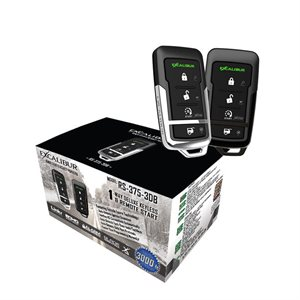 Excalibur Keyless Entry and Remote Start w /  3D Accelerometer