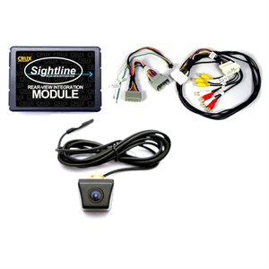 Crux Select Chrysler / Dodge / Jeep Rear View Camera Integration