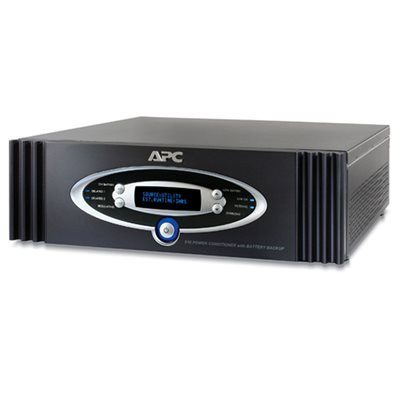 APC 12-Outlet 1kVA Power Conditioner with Battery Backup