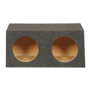 "SPL Boxes Dual 10"" Sealed Enclosure"