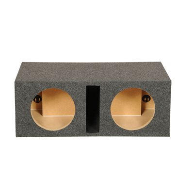 """SPL Boxes 10"""" Shared Vented Dual Enclosure"""