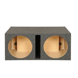 "SPL Boxes 15"" Shared Vented Dual Enclosure"