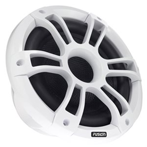 """Fusion Marine 10"""" 450 Watt Sports White Marine Subwoofer with LEDs (single)"""