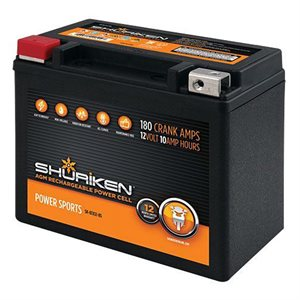 Shuriken 180 Crank Amps 10 Amp Hours AGM Battery