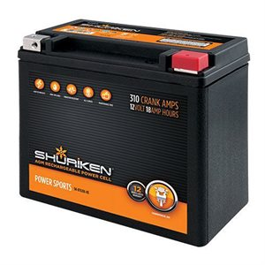 Shuriken 310 Crank Amps 18 Amp Hours AGM Battery