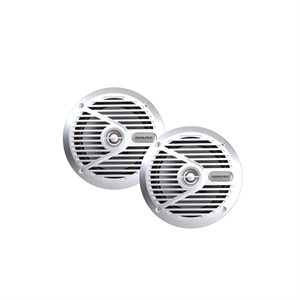 """Alpine 6-1 / 2"""" 2-Way Marine Speaker (silver)"""