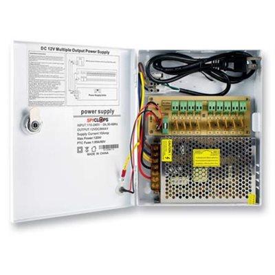 Spyclops 9-Way Power Distribution Box (10 Amp)