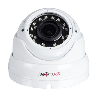 Spyclops 4-in-1 1080p Varifocal Dome Camera (white)
