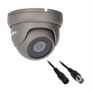 Spyclops Mini Turret Dome Coax Camera (Gray)