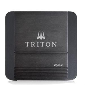 Triton Audio 250W Two-Channel Class D Amplifier, 2-Ohm