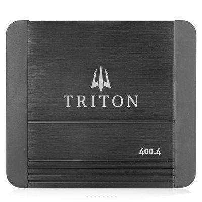 Triton Audio 400W Four-Channel Class D Amplifier, 4-Ohm