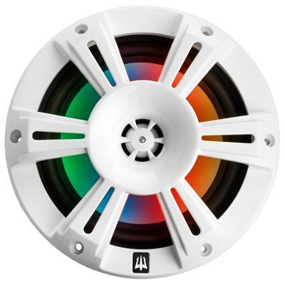 """Triton Audio 6.5"""" 2Way Coaxial Marine Speaker (white grille)"""