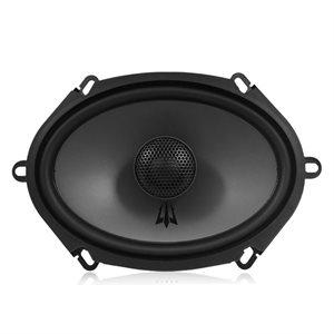 """Triton Audio 6x8"""" Coaxial 2-Way Woofer, 4-Ohm, 100W, 1"""" Swiv"""