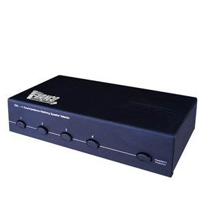 Vanco Four Pair Stereo Speaker Selector Box