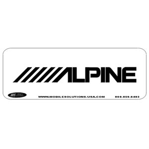 Mobile Solutions Alpine Smart Fill Template