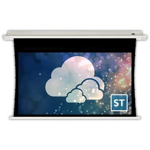 "Severtson 106"" 16:9 Spirit Tab Tension Series (Cinema White)"