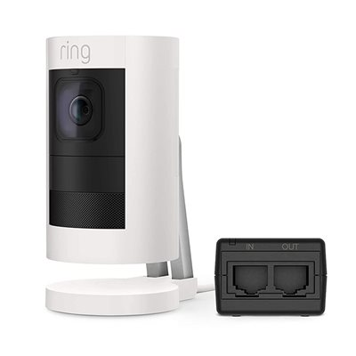 RING Stick Up Cam Elite - White