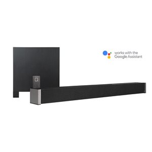 Def Tech 5.1 Channel Ultra Slim Soundbar dolby Digital w /  wireless Sub