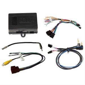 Crux Radio Replacement w /  SWC Retention for GM LAN 29-Bit Vehicles w /  Bose Amplified & Non-Amplified