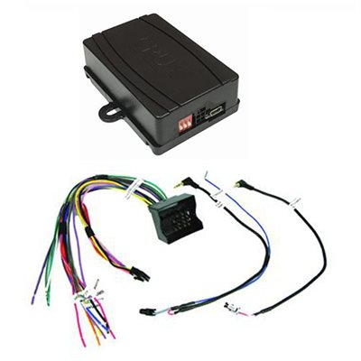 Crux VW Radio Replacement Interface with SWC Retention