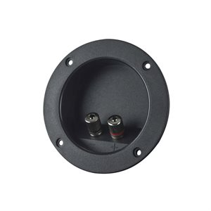 "Install Bay 3"" Round Binding Post Terminal Cup"