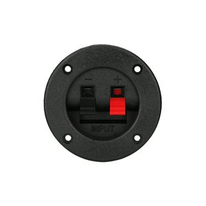 Install Bay Round Spring Terminal Cup