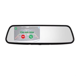 "iBeam 4.5"" Mirror Monitor with Bluetooth"