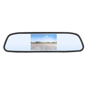 "iBEAM 4.3"" Clip-On Mirror Monitor"