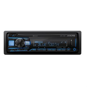Alpine Mechless Digital Receiver w / Advanced Bluetooth