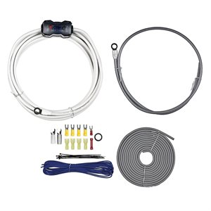 T-Spec v10 8 ga Power / Ground Amplifier Kit