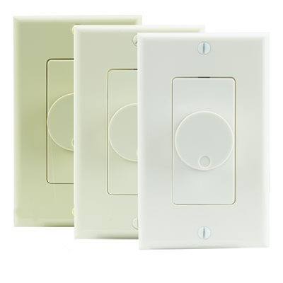 TruAudio Decor Volume Control w / Knob (almond / ivory / white)