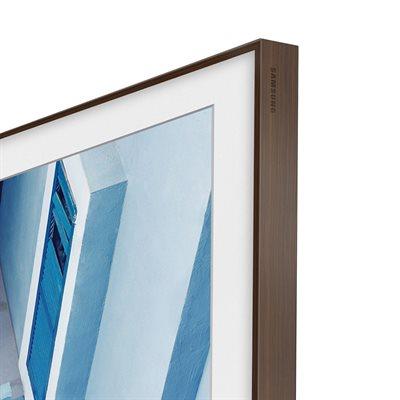 "Samsung 43"" Customizable Frame for Frame TV (dark wood)"