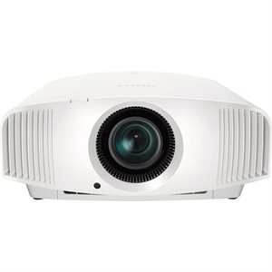 Sony SXRD 4K UHD HDR 1500 lumens Front Projector (white)
