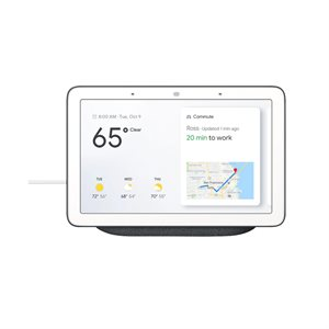 Google Home Hub w /  Google Assistant (charcoal)