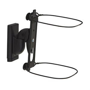 Sanus Swivel / Tilt Wall Mount for Sonos ONE (black, pair)
