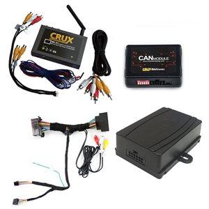 Crux 2013+ Dodge / Jeep / Ram Wi-Fi Connect / AV Integration Kit