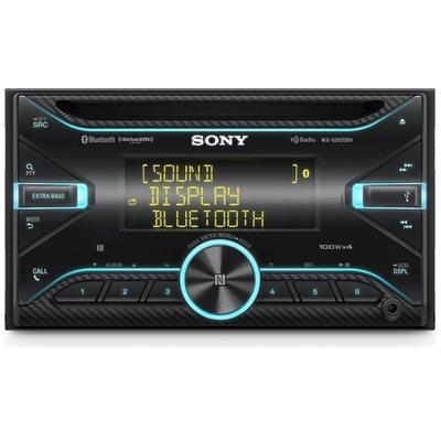Sony DDIN High-Power Bluetooth CD Receiver