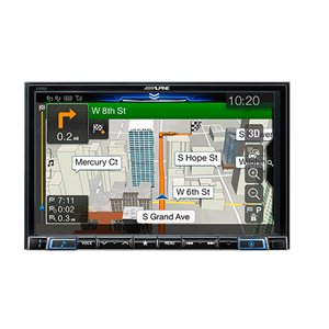 "Alpine 8"" CarPlay & Android Auto Display with built in Navigation"