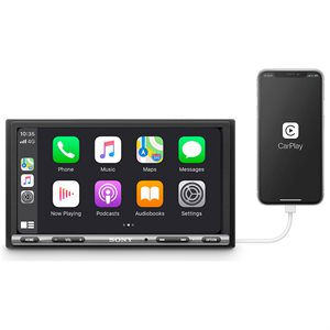 "Sony 6.95"" Apple CarPlay / Android Auto Media Receiver"