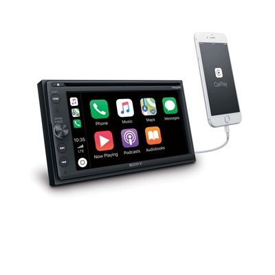 "Sony 6.4"" CD / DVD CarPlay / Android w / SXM A / V Center+Maestro"
