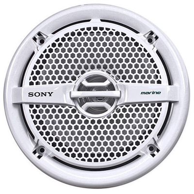 "Sony Marine 6.5"" Dual Cone Speakers (white, pair)"