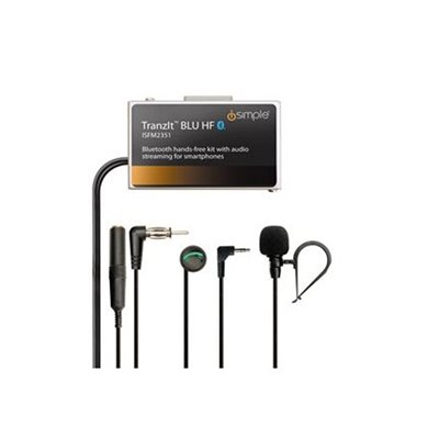 iSimple Bluetooth Calling / Music Streaming w / Control Button