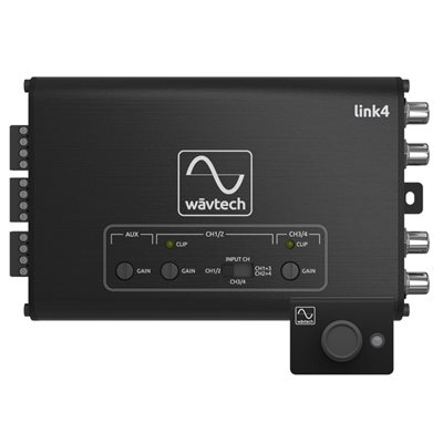 Wavtech 4CH Line Output Converter / Summing Processor w / Remote