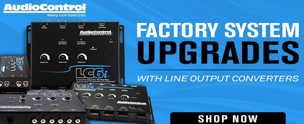 AudioControl Line Output Convertors