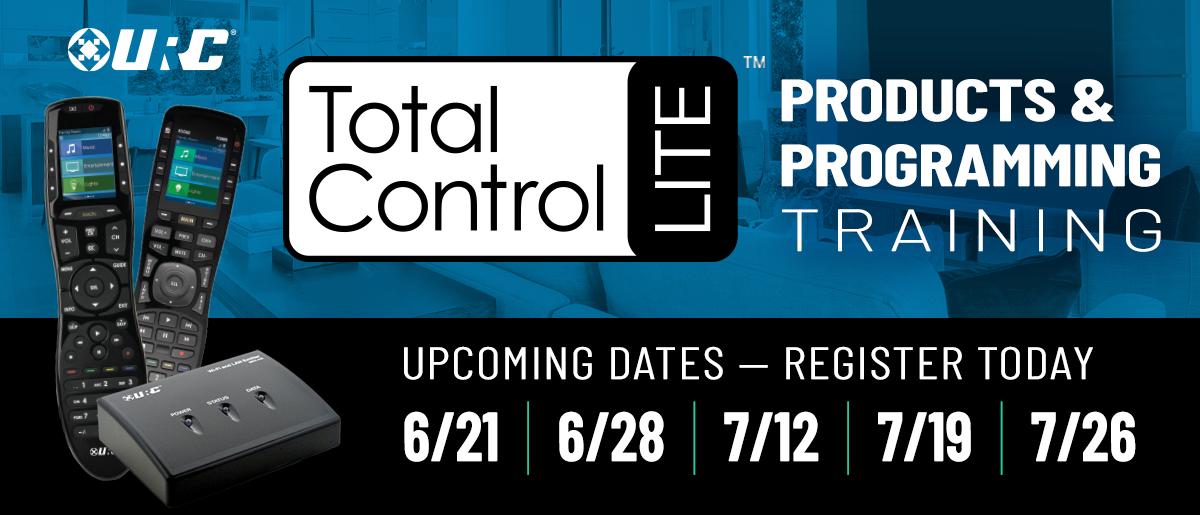 URC Total Control Lite Training